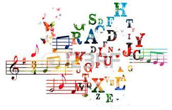 39380478-musique-de-fond-color