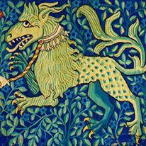 Le lion vert